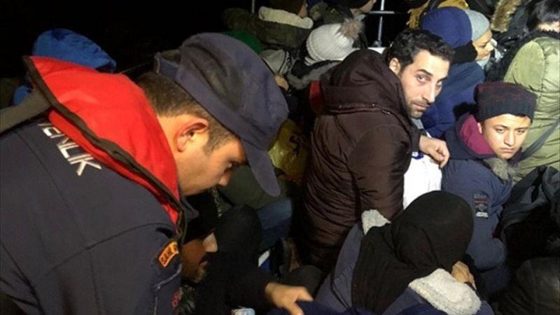 Muğla'da bir botta 39 düzensiz göçmen yakalandı
