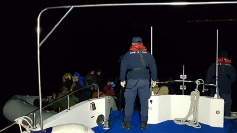 Aydın'da 31 düzensiz göçmen yakalandı