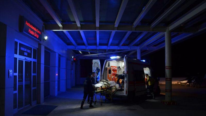 Manisa'da alkollü kişi kendini yaktı