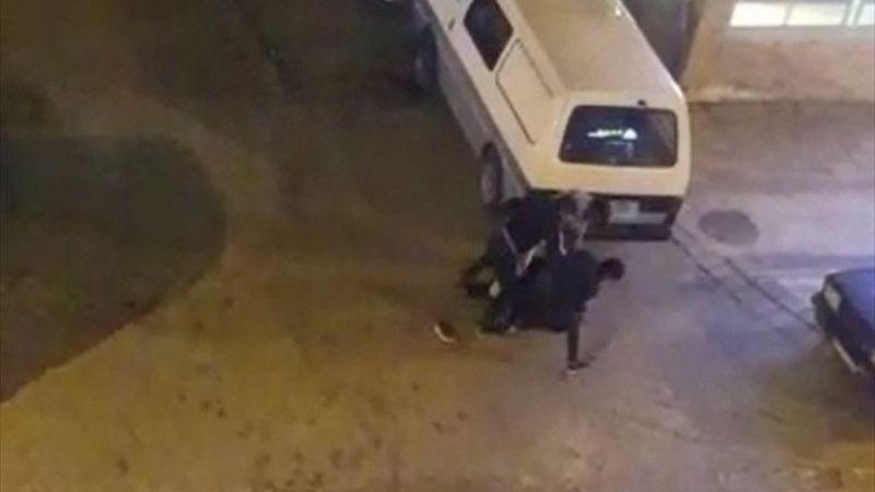 Denizli'de 3 kişi tarafından sokak ortasında darbedilen kişi yaralandı