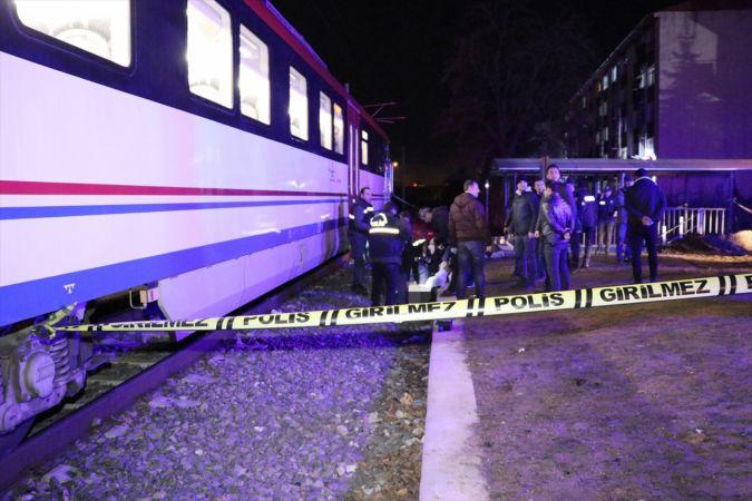 Kütahya'da trenin çarptığı kişi hayatını kaybetti
