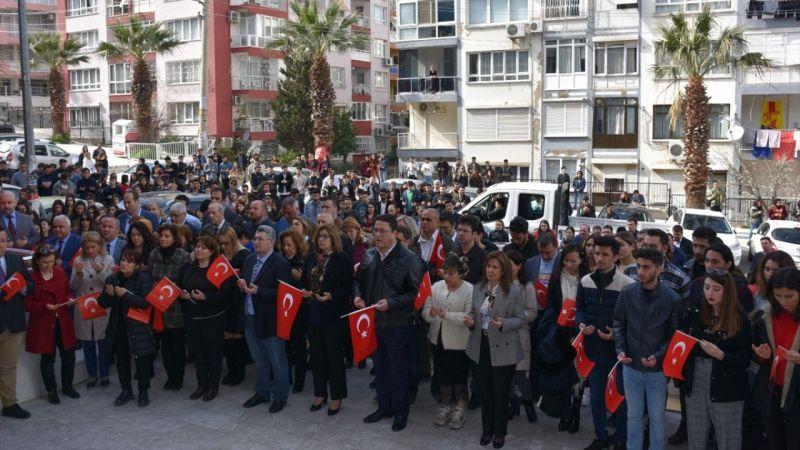 İzmir Demokrasi Üniversitesinden Bahar Kalkanı Harekatı'na destek