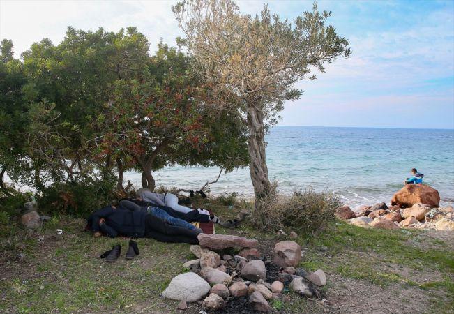 Ege sahillerinde sığınmacı hareketliliği