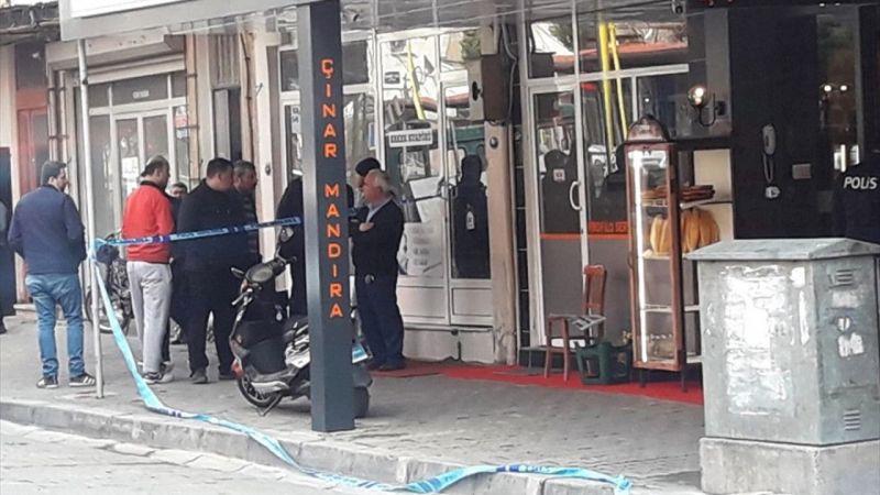 İzmir'de iş yerine pompalı tüfekle saldırı