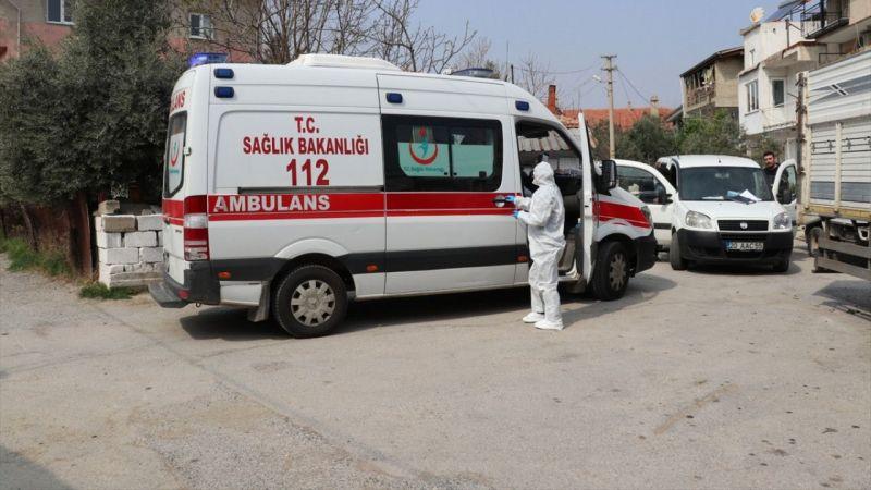 Denizli'de koronavirüs testinden sonra hastaneden uzaklaşan kadın ekipleri harekete geçirdi
