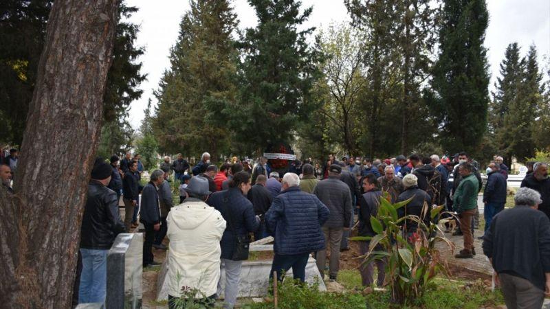Muğla'da denizde kaybolduktan sonra cesedi bulunan kişinin cenazesi defnedildi