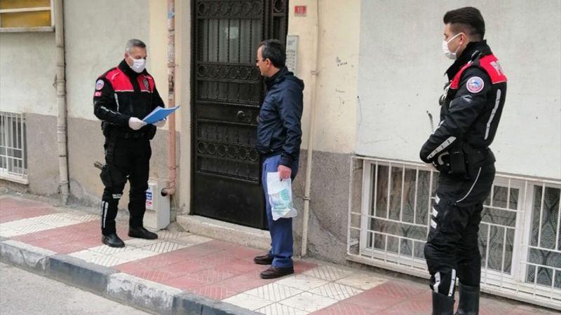 Manisa'da ev karantinasına uymayan 8 kişiye 25 bin 200 lira ceza
