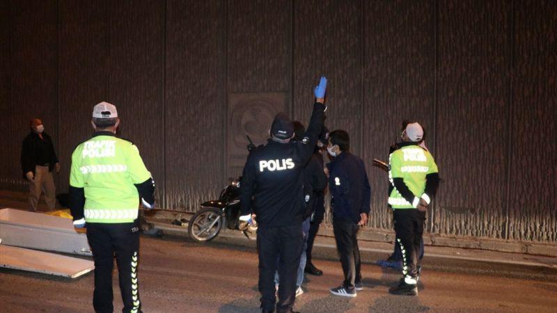 Denizli'de duvara çarpan motosikletin sürücüsü öldü
