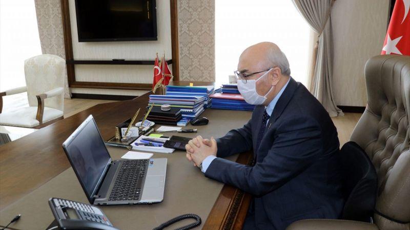Aydın Valisi Köşger, Milli Dayanışma Kampanyası'na destek verenlere telekonferansla teşekkür etti