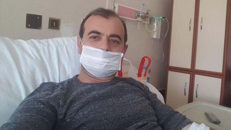 """Aydın'da Kovid-19 testi pozitif çıkan polisten """"Evde kalın"""" çağrısı"""