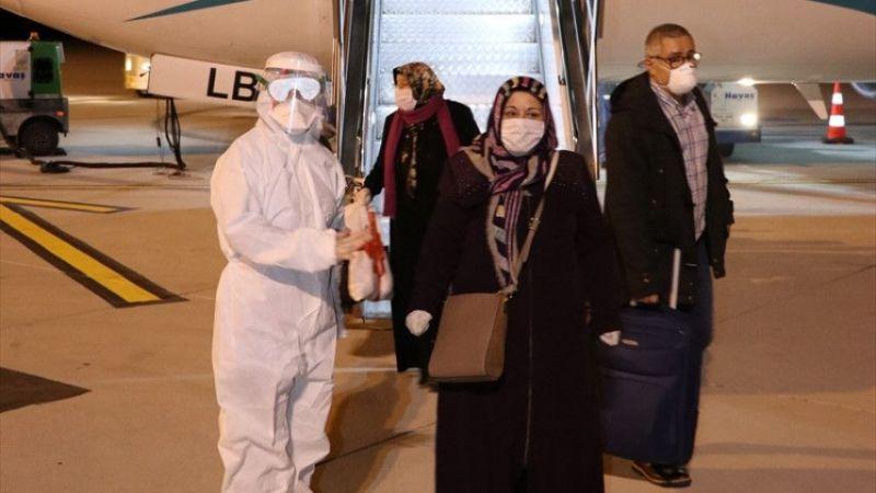 İngiltere'den getirilen 167 Türk vatandaşı Kütahya'da yurda yerleştirildi
