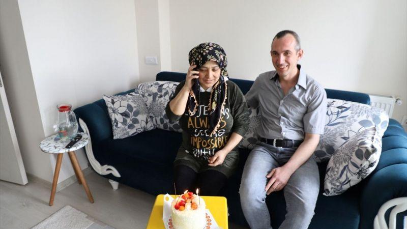 Eşinin doğum gününü kutlamak için belediyeden pasta istedi