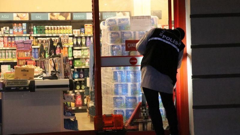 İzmir'de süpermarketten hırsızlık