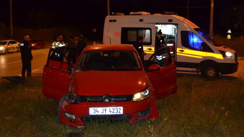 Söke'deki trafik kazasında 3 kişi yaralandı