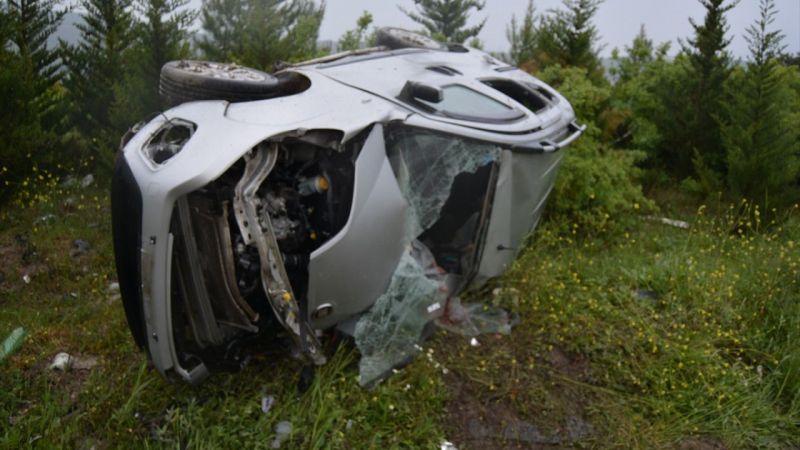 Manisa'da trafik kazası: 1 ölü, 2 yaralı
