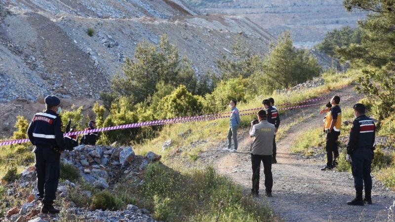 Muğla'da yüksek gerilim hattı yakınında yanmış erkek cesedi bulundu