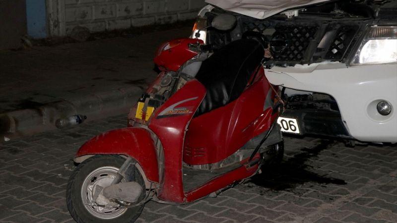 Muğla'da kamyonetin çarptığı motosiklet sürücüsü ağır yaralandı