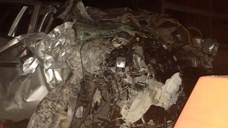 Afyonkarahisar'da otomobil devrildi: 1 ölü, 3 yaralı