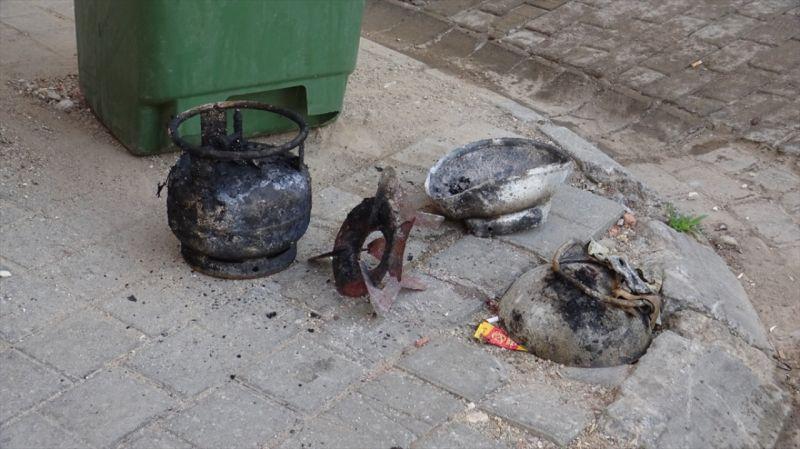 Aydın'da mutfak tüpünün patlaması sonucu 1 kişi yaralandı