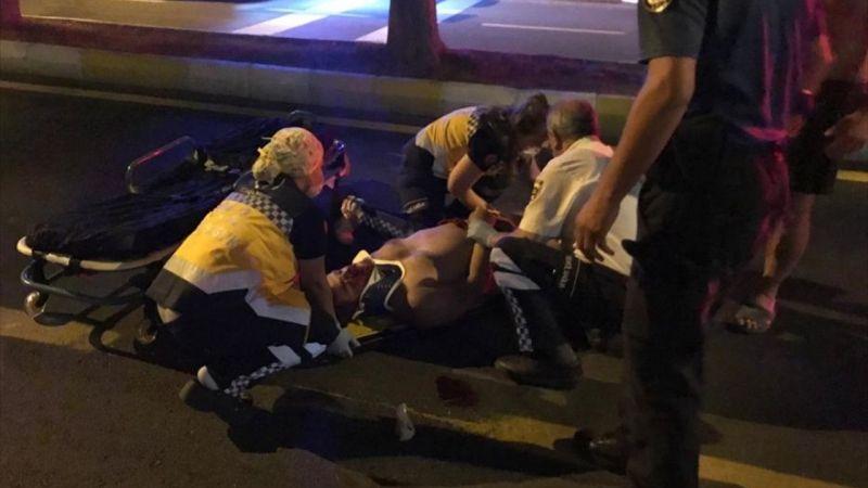 Aydın'da kaza yapan motosiklet sürücüsü hastanede hayatını kaybetti