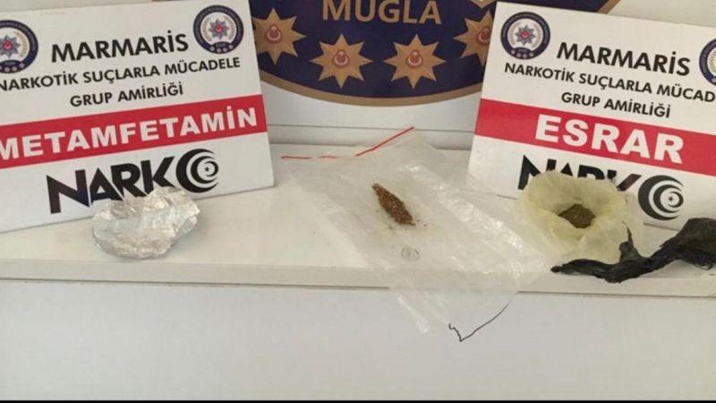 Muğla'da uyuşturucu operasyonunda iki şüpheli yakalandı