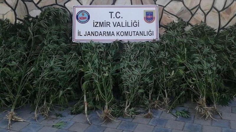 İzmir'de uyuşturucu operasyonunda 2 şüpheli yakalandı