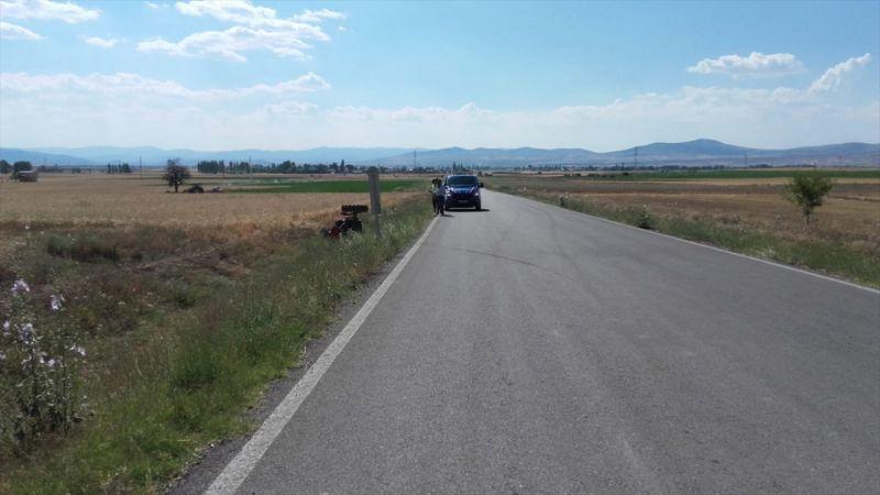 Afyonkarahisar'da traktör devrildi: 1 yaralı