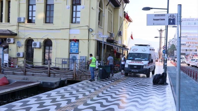 İzmir Körfezi'nde bir kişi teknede ölü bulundu