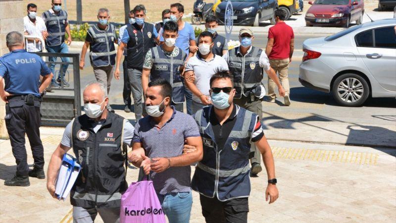 Aydın'da suç örgütü operasyonunda 10 gözaltı