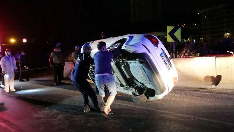 İzmir'de polis memuru trafik kazasında hayatını kaybetti