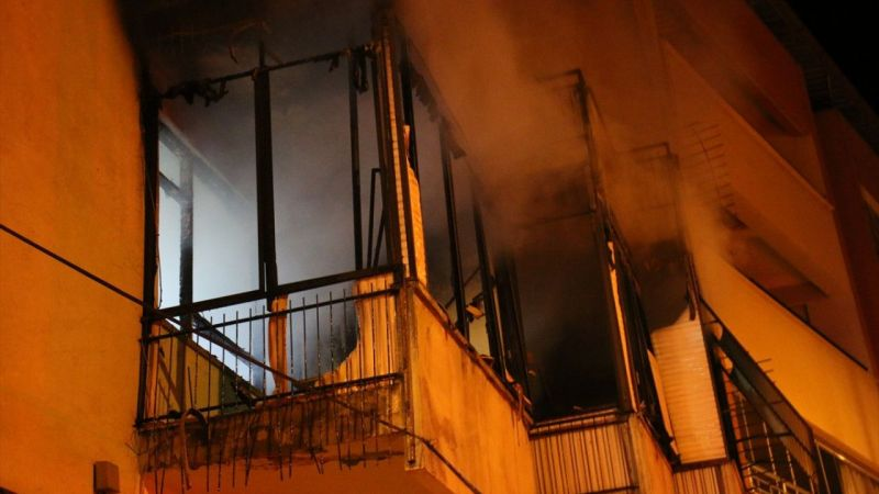 Aydın'da cezaevinden izinli çıkan hükümlü evini ateşe verdi