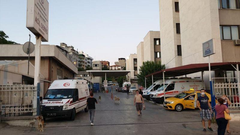 İzmir'de polisten kaçarken yüksekten düşen hırsızlık şüphelisi yakalandı