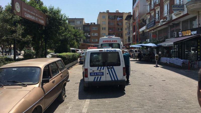 Aydın'da bıçakla yaralanan genç hastaneye kaldırıldı