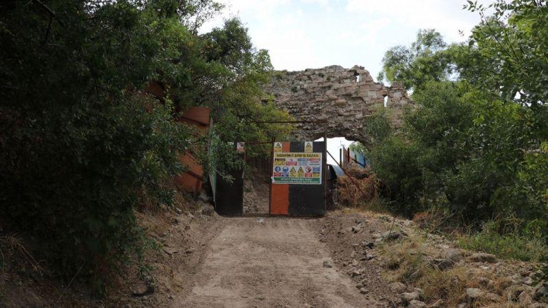 """Kurtarma kazısı başlatılan 72 burçlu Kütahya Kalesi'nde """"Frig"""" kalıntıları aranacak"""