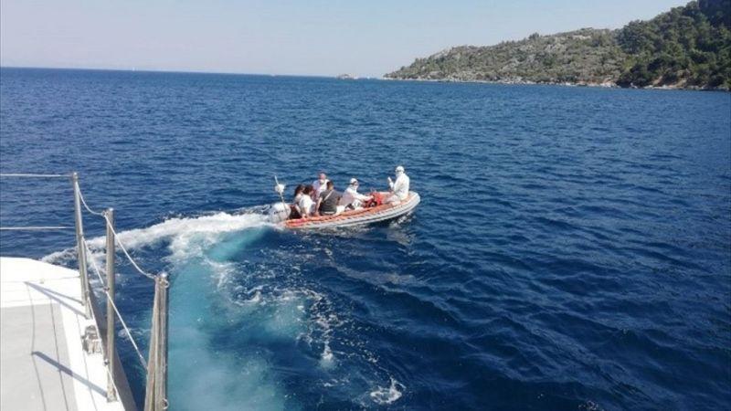 Muğla açıklarında 23 sığınmacı kurtarıldı