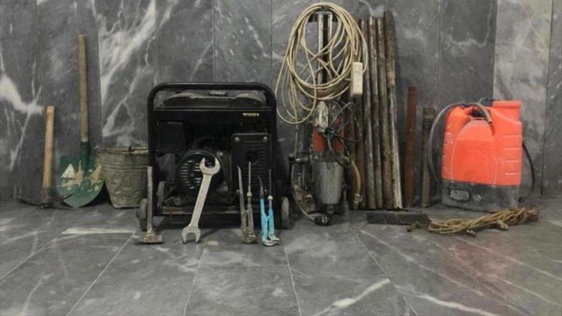 Afyonkarahisar'da izinsiz kazı yapan 5 kişi suçüstü yakalandı