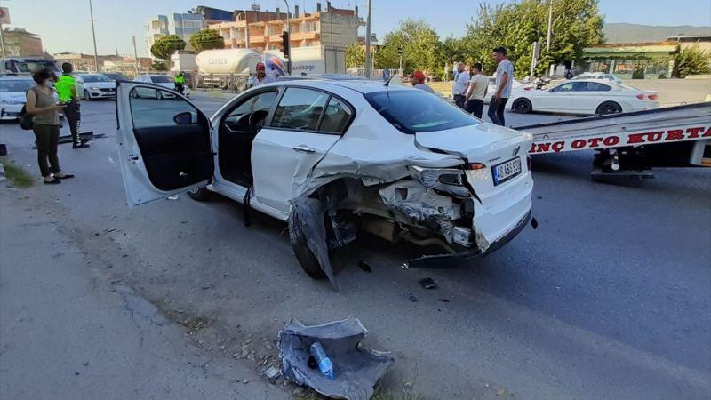 Aydın'da zincirleme trafik kazasında 8 kişi yaralandı