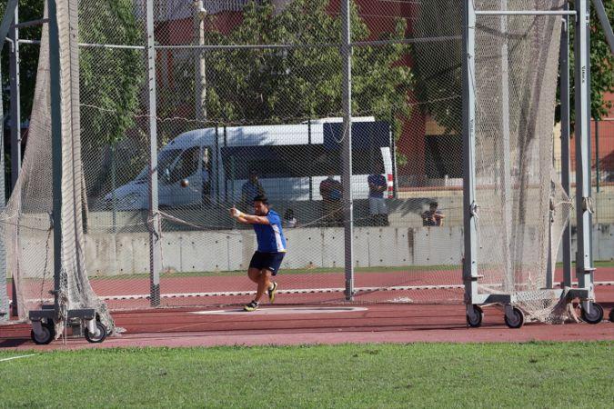 Atletizm yarışmaları, alınan sağlık tedbirleri kapsamında sürüyor