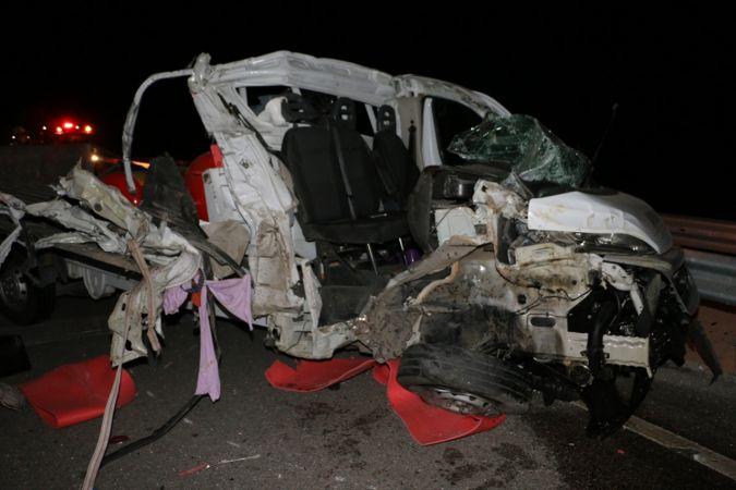 Manisa'da trafik kazası: 1 ağır yaralı