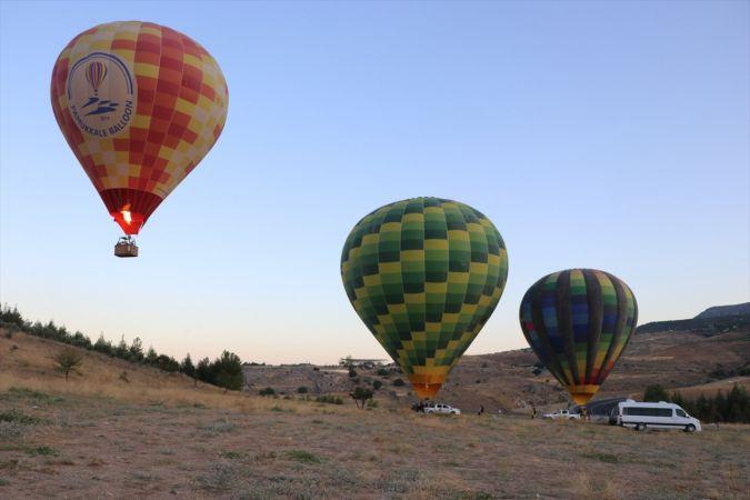 """Balonlar """"beyaz cennetin"""" üzerinde 162 gün sonra yeniden uçmaya başladı"""