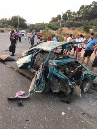 Muğla'da otomobil devrildi: 2 ölü, 1 yaralı
