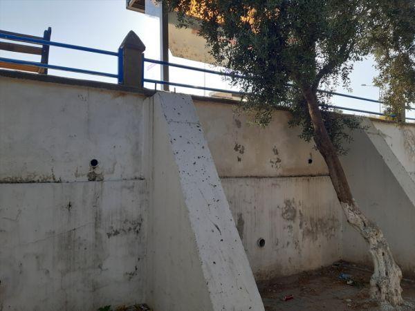 Aydın'da yüksekten düşen kişi hastanede tedavi altına alındı