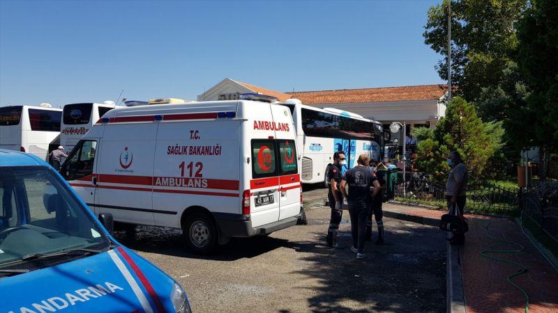 Manisa'da, karantina kurallarını ihlal eden kişi otobüste yakalandı