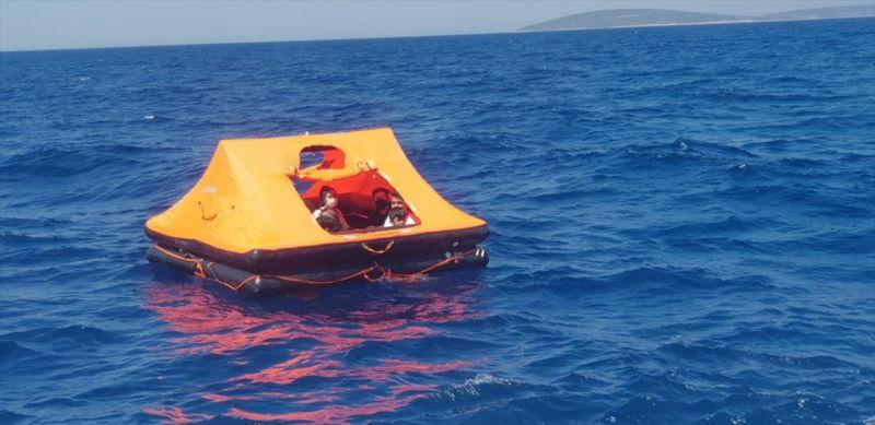 Aydın açıklarında 30 sığınmacı kurtarıldı