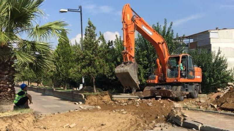 Topuklu Efe Yeşil Mahalle'nin sorununa neşter vurdu.. Muhtar Öztürk'ten Başkan Çerçioğlu'na teşekkür