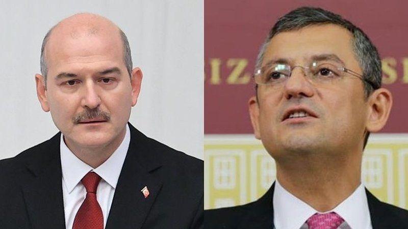 CHP'li Özel'den Süleyman Soylu'ya: Siyasetçi ile mafya arasındaki ilişkiyi biliyor ama adım atmıyor