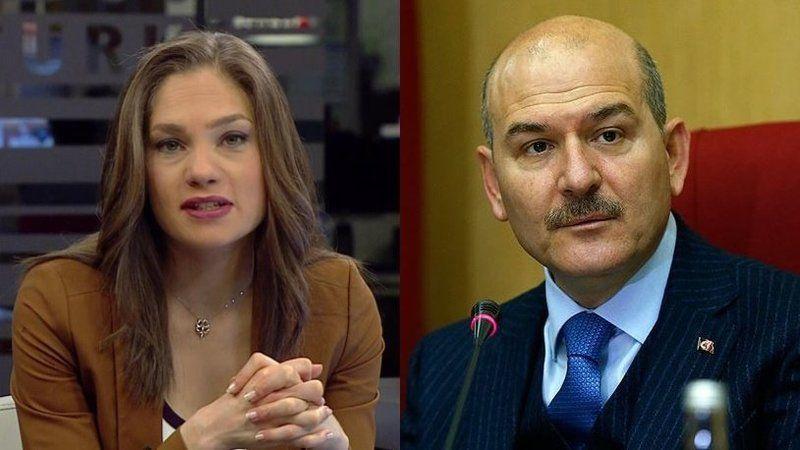 Süleyman Soylu'nun 'canlı yayın' kararına Nevşin Mengü'den çarpıcı yorum
