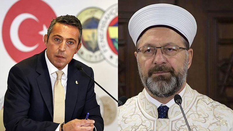 Ali Koç'tan Diyanet İşleri Başkanı Eli Erbaş'a mektup: Kırgınım