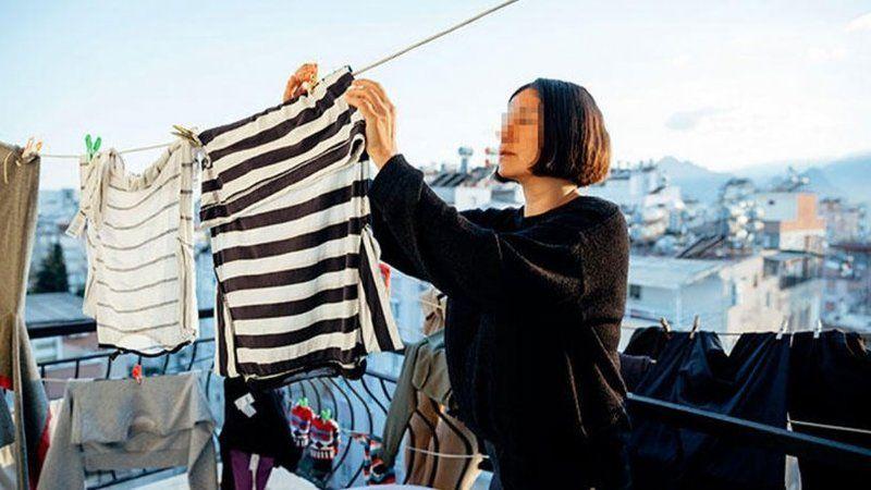 İç çamaşırları çalınan kadına büyük şok: Sapık hırsız bakın kim çıktı...