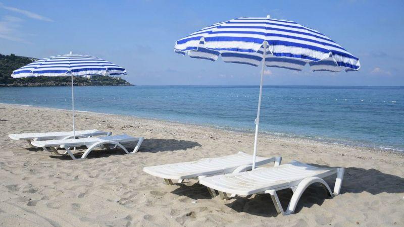 Turizmin başkentinde plajlar misafirlerini bekliyor